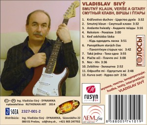 CD Smutný klaun - inlay Lem FM