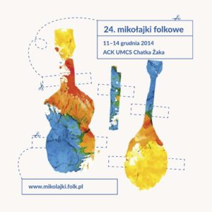 Mikolajki Folkowe 2014 logo