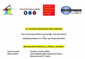 Praha plakat