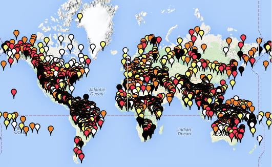 Moseley, Christopher (ed.). 2010. Atlas of the World's Languages in Danger, 3rd edn. Paris, UNESCO Publishing. Online version: http://www.unesco.org/culture/en/endangeredlanguages/atlas