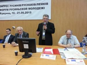 од лівой: Юлиюс Фірцак, Милан Мнягоньчак, Андрий Копча