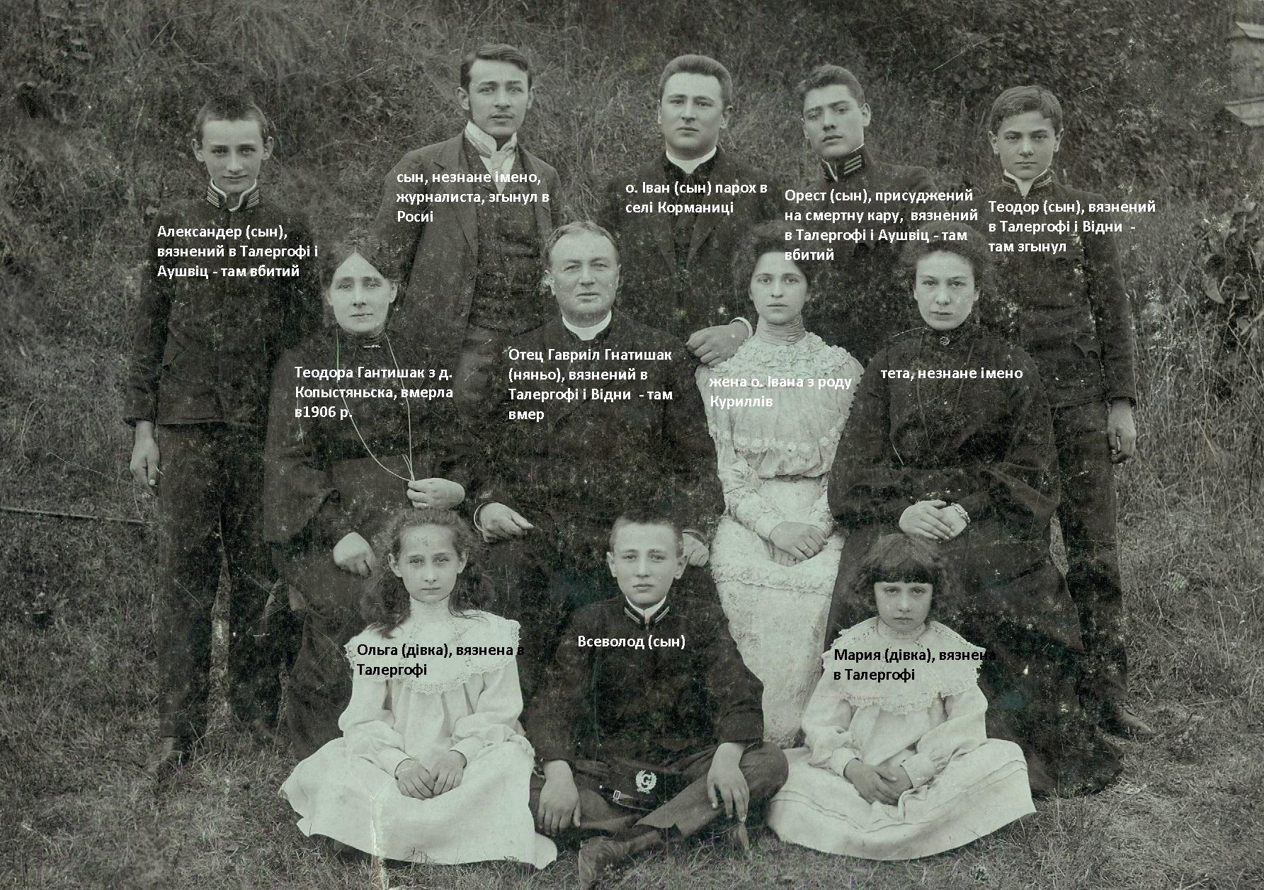 Родина Гантишаків