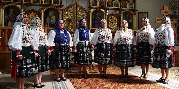 Женьскій хор з Орябины