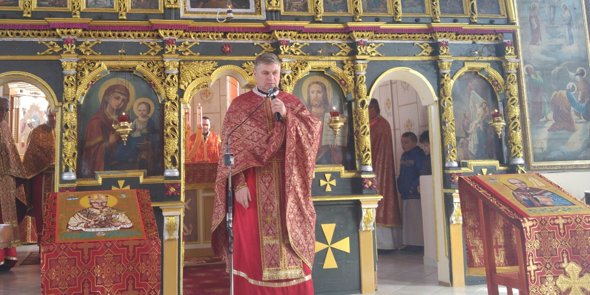 Interview with priest Jaroslav Popovec, the head of the Society of St. John the Baptist