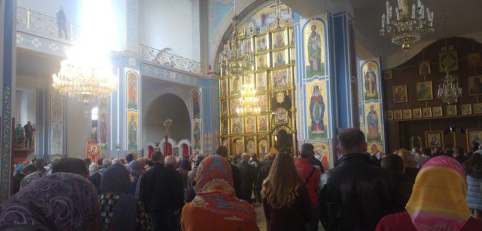 Пренос божеской літургіі з собору Христа Спасителя в Ужгороді – неділя, 12.30 год.
