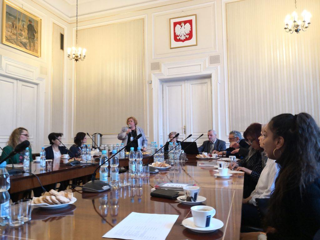 Уряд Воєводскій в Кракові, стріча присвячена меншыновій освіті