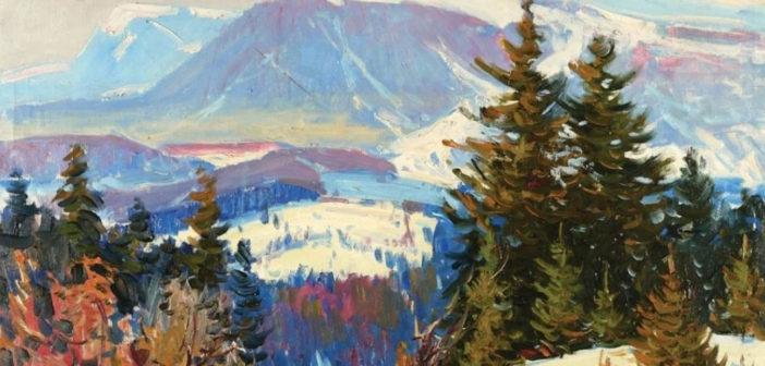 110 років тому вродил ся мастер імпресийоністичного карпатского пейзажу