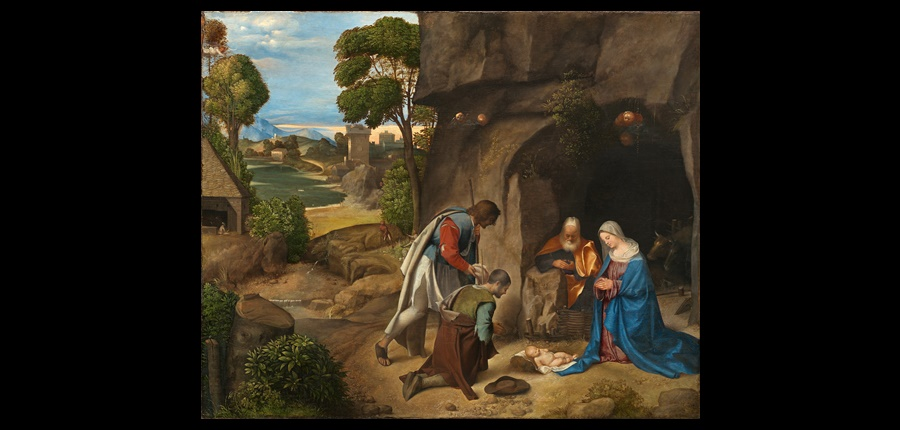 Giorgione - Adoration of the Shepherds