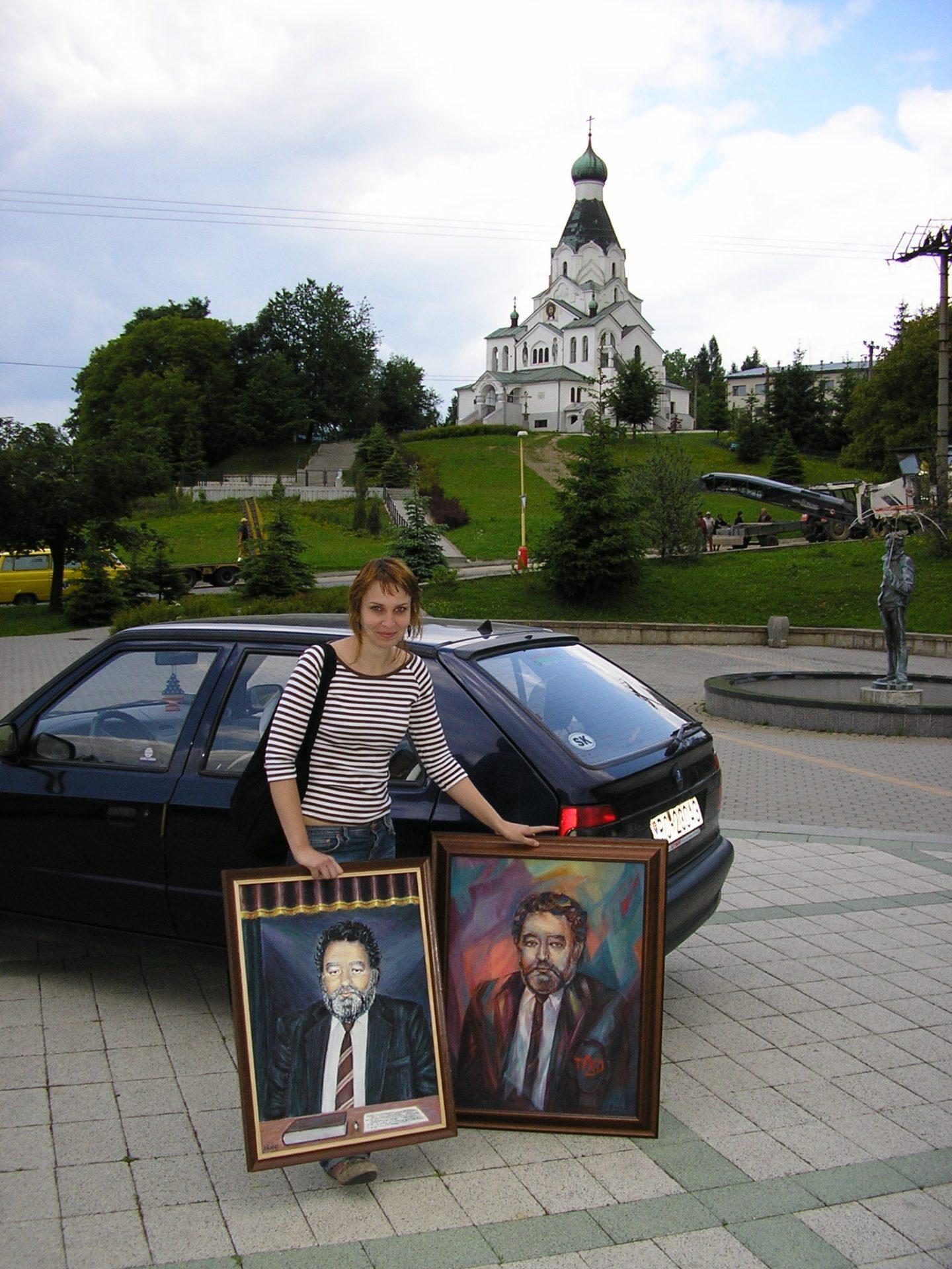 Портреты Василя Турока-Гетеша.