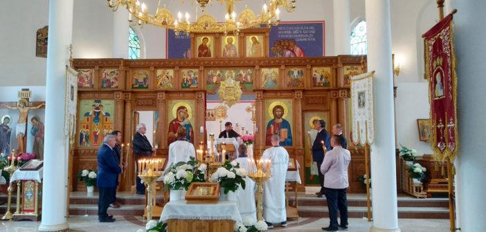 Пренос Божеской Літургіі з церкви св. Димитрия Солуньского в Бучыні – неділя, 15.00 год.
