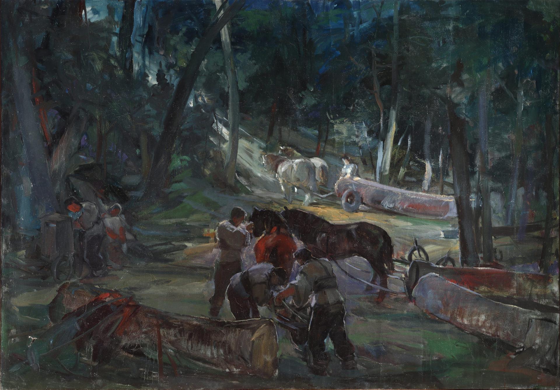 Образ під назвов Русиньскый світ Войтєха Борецького є із 1940-ых років. Детайл образу є схоснованый на окладці новой публікації.