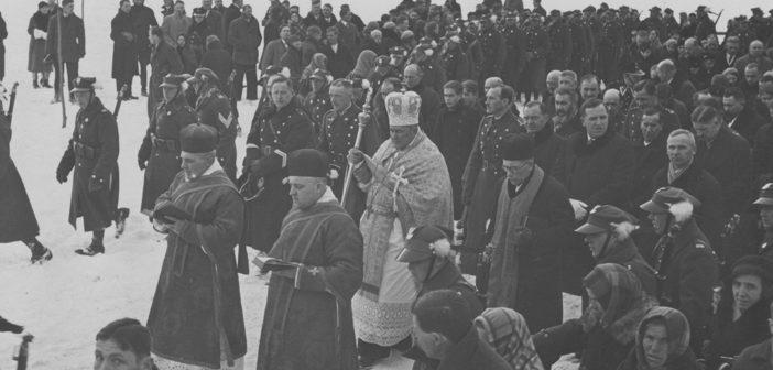 Владыка Масцюх в Саноку – Йордан 1935